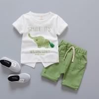 Baju Pakaian Fashion Anak Cowok Laki Laki Motif Gajah New Arrival