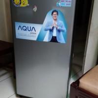 Kulkas bekas baru aqua sanyo 1 pintu