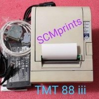 Printer Kasir Thermal Epson TMT 88iii POS TM-T88III Serial Model M129C