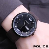 JAM TANGAN POLICE KULIT P115 - I