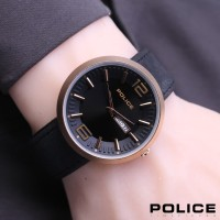JAM TANGAN POLICE KULIT P115 - III