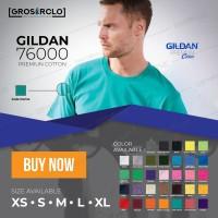 Jual Kaos polos Gildan Premium 76000 MAN Original Import Murah S M L XL Murah