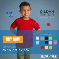 Kaos Polos Gildan Premium anak anak 76000B Original Import Murah XS-XL