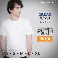 Jual kaos polos gildan softstyle white original murah jakarta Murah