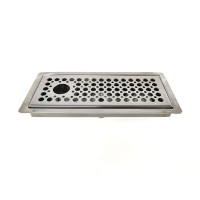 DTCUSTOMS Incounter Flat Small 21.5cm Brew Tray Stainless Steel