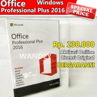 Microsoft Office 2016 Pro Professional Plus Licensi ORIGINAL Windows