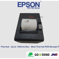 Printer Kasir Epson TM-T82 Thermal Auto Cutter port usb - serial