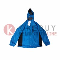 Jaket Gunung EIGER J341 Clement Blue - Softshell Jacket - Water Proof