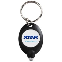 XTAR LED Keychain Light Black - XPK - Senter Gantungan Kunci HITAM