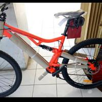 Fullbike Sepeda Fullsus MTB Thrill Ous 2.0 Size L New Free Ongkir
