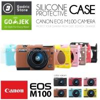 Silicone Canon EOS M100 Silikon Case / Sarung Silicon Kamera Mirrorles