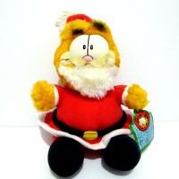 Boneka Garfield Original F.S. Santa Garfield Version Rare Doll 3d888aafac