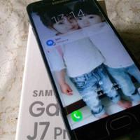 Samsung galaxy j7 prime second fullset no minus cling