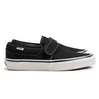 7669bf09cd8 VANS SLIP-ON 47 V DX ANAHEIM FACTORY black Checkerboard OLD SKOOL LX