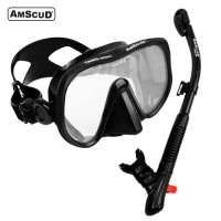 Combo AmScuD MS TANG - Frameless Mask + Superdry Snorkel