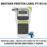Brother Printer Label PT-H110 Label Maker Pembuat Label - Original