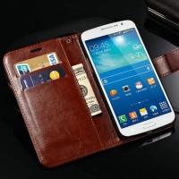 Flip Case Samsung Grand 2 Duos G7102 7106 Flipcase Wallet Dompet Kulit