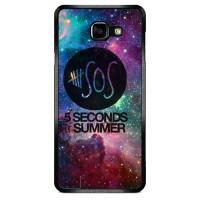 5 Second of Summer Logo Galaxy Nebula O3421 Samsung A7 2015