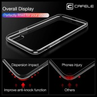 CCQ CAFELE CRYSTAL SILICONE TRANSPARAN CASE COVER IPHONE 7 8 7 PLUS 8