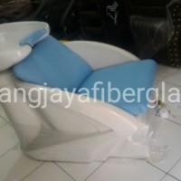 kursi keramas duduk putih jok biru tango blue