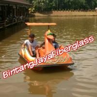 sepeda air fiberglass bebek murah baru new