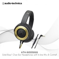 Audio-Technica ATH-WS550iS BGD ( EX ) BLACK / GOLD