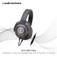 Audio-Technica ATH-WS770iS GM ( EX ) GOLD / METAL