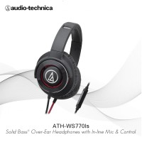 Audio-Technica ATH-WS770iS BRD ( EX ) BLACK / RED