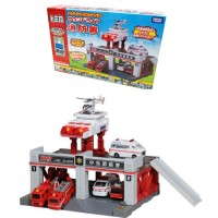 Tomica Town Build City Fire Station Light and Sound