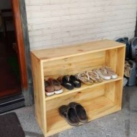Rak Sepatu Full Kayu Jati Belanda Pinus Solid Murah dan Keren