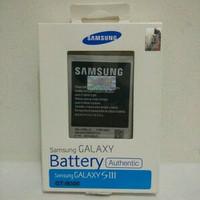Baterai S3 Battery Batre Samsung Galaxy S 3 BIG i9300 Original 100%