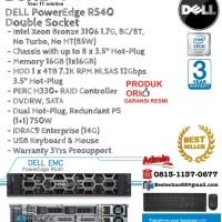 DELL Server R540 Intel Xeon Bronze 3106 Double Socket RackmountSeries