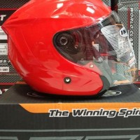 Helm INK Dynamic MERAH / Fire Red size L