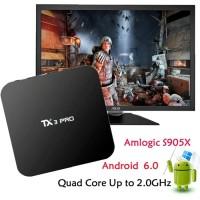 HOT SALE! Android TV Box TX3 Pro 4K S905X Marshmallow Murah Terlaris