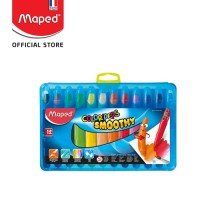 Maped Smoothy Crayon 12'