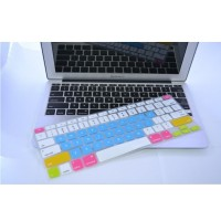 Candy Color Silicone Keyboard Cover Protector Skin for Macbook Air 13