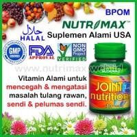 Nutrimax Joint Nutrition isi 30 Vitamin Untuk Pelumas Sendi & Tulang