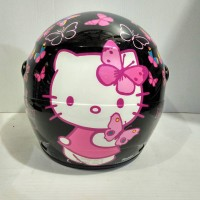 new. helm anak GM evolution. motif kartun. single visor. standart SNI