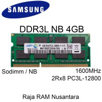 [BARU] RAM / MEMORY SAMSUNG NOTEBOOK / LAPTOP DDR3L 4GB