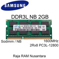 [BARU] RAM / MEMORY SAMSUNG LAPTOP/NB DDR3L 2GB