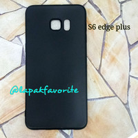 CASE BLACK MATTE SAMSUNG S6 EDGE PLUS