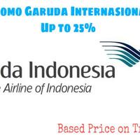 Promo Tiket Pesawat Garuda Indonesia Internasional