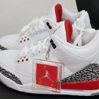 Sepatu Basket Air Jordan 3 ( AJ 3 ) Katrina sz 44.5 ORIGINAL BNIB Baru 4f64ead3b0