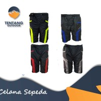Celana Sepeda Padding Tidak Ketat Pading 2 Layer Grosir MTB Downhill