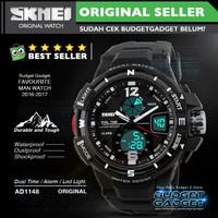 Jam Tangan Pria SKMEI Sport Analog LED Watch Water Resist 50m - AD1148 f606135ffd
