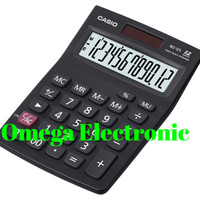 Casio MZ 12S - Kalkulator Meja - Hitam
