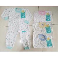 LIBBY Setelan Panjang S,M,L kecil (6-18 bulan) 1 Pakaian Bayi Libby