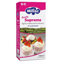 MILLAC ROSELLE SUPREME CONFECTIONARY TOPPING 1 LITER