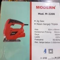 Mesin Gergaji Jigsaw Modern M-2200