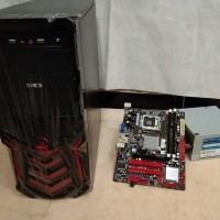 Komputer Cpu Rakitan Core 2 Duo E8400 3,0G + Mb.G41 Ddr3 Hd 160G 2nd